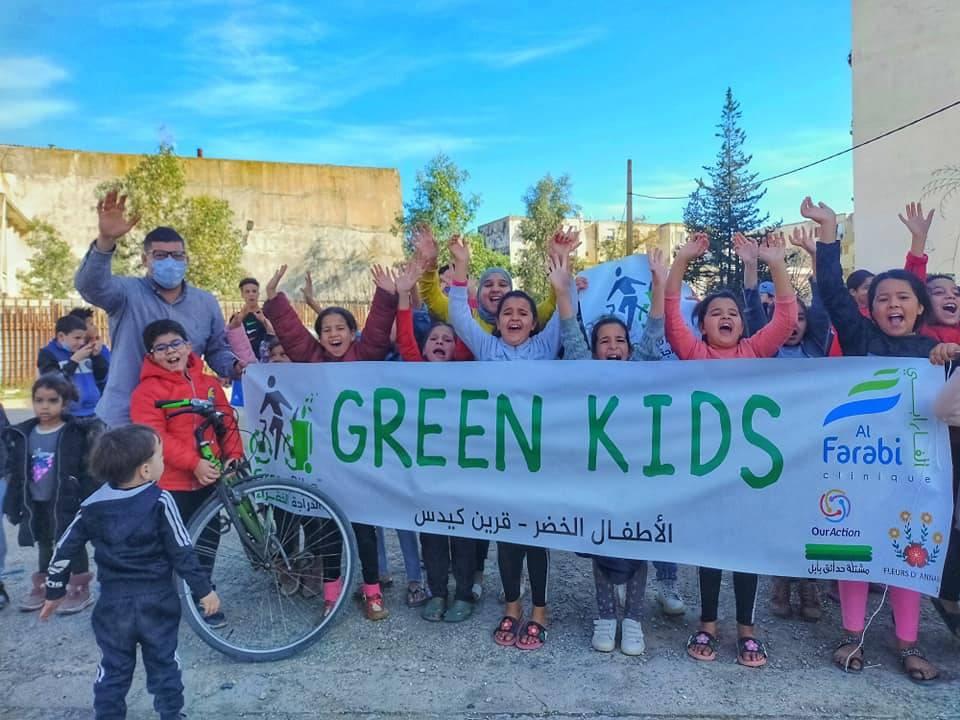 Green kids Seybouse - GREEN BIKE