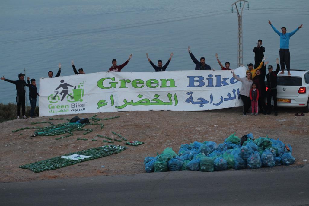 عملية الدراجة الخضراء - بجانب طريق الفنار - GREEN BIKE