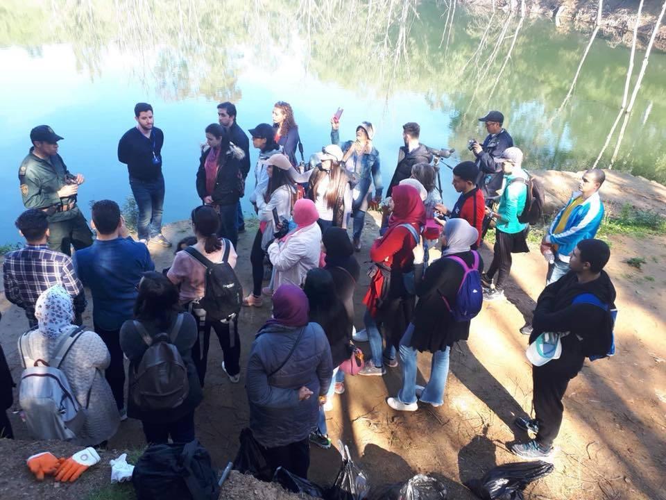 زيارة استكشافية الى البحيرة الزرقاء برحال - جمعية المدينة للحفاظ على التراث العنابي
