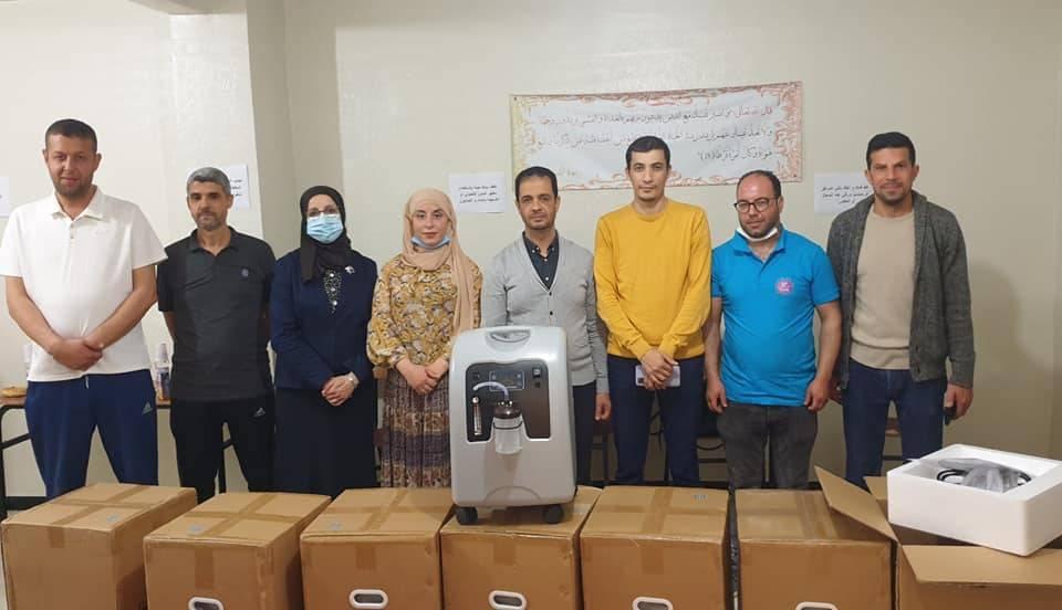 توزيع أجهزة لتكثيف الأكسجين على 10 جمعيات فاعلة في البلديات والولايات المجاورة - جمعية البشائر - عنابة