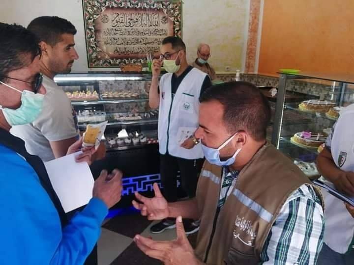 حملة تحسيسية لفائدة التجار والمواطنين في مختلف بلديات ولاية خنشلة  - المنظمة الجزائرية لحماية و ارشاد المستهلك و محيطه