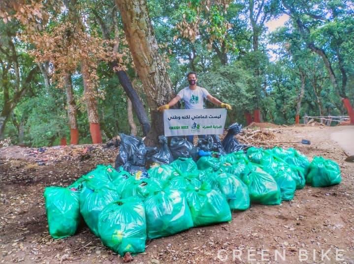 حملة تنظيف بغابة بوزيزي - GREEN BIKE