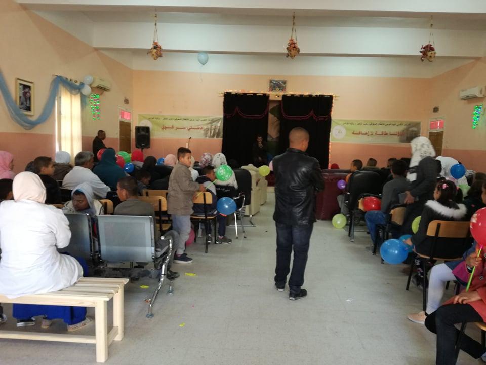 الإحتفال بالويم العالمي لذوي الإحتياجات الخاصة - جمعية لمسة الثقافية المغير