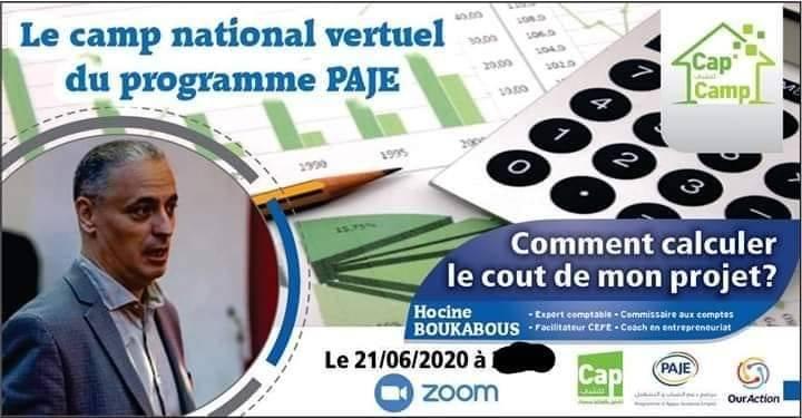 دورة تكوينية عن بعد : حساب تكاليف المشروع - cap jeunesse