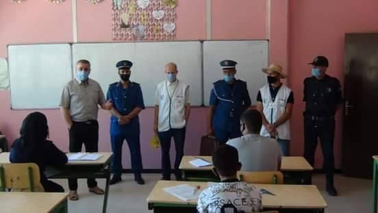 حملة تحسيسية بالمؤسسات التربوية-عين الدفلى - المنظمة الجزائرية لحماية و ارشاد المستهلك و محيطه