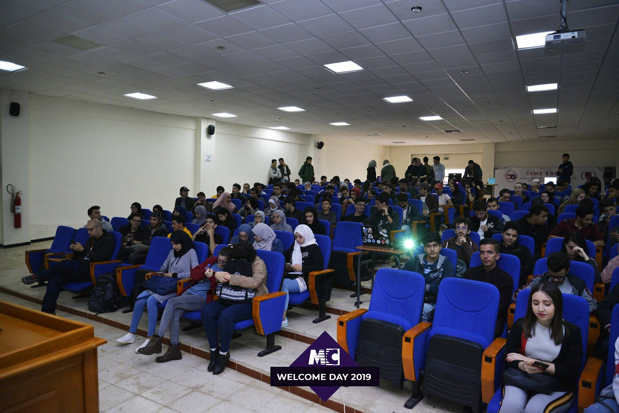Welcome Day 2019  - Micro Club - USTHB
