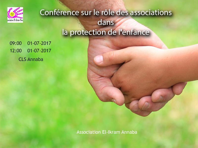 Conférence sur le rôle des associations dans la protection de l'enfance  - Association El Ikram Annaba