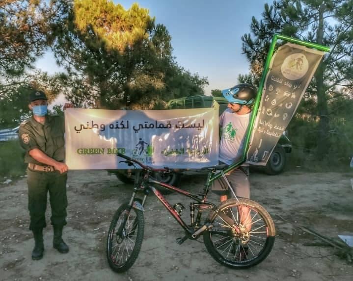 حملة تحسيسية للمحافظة على الغابات 2 - GREEN BIKE