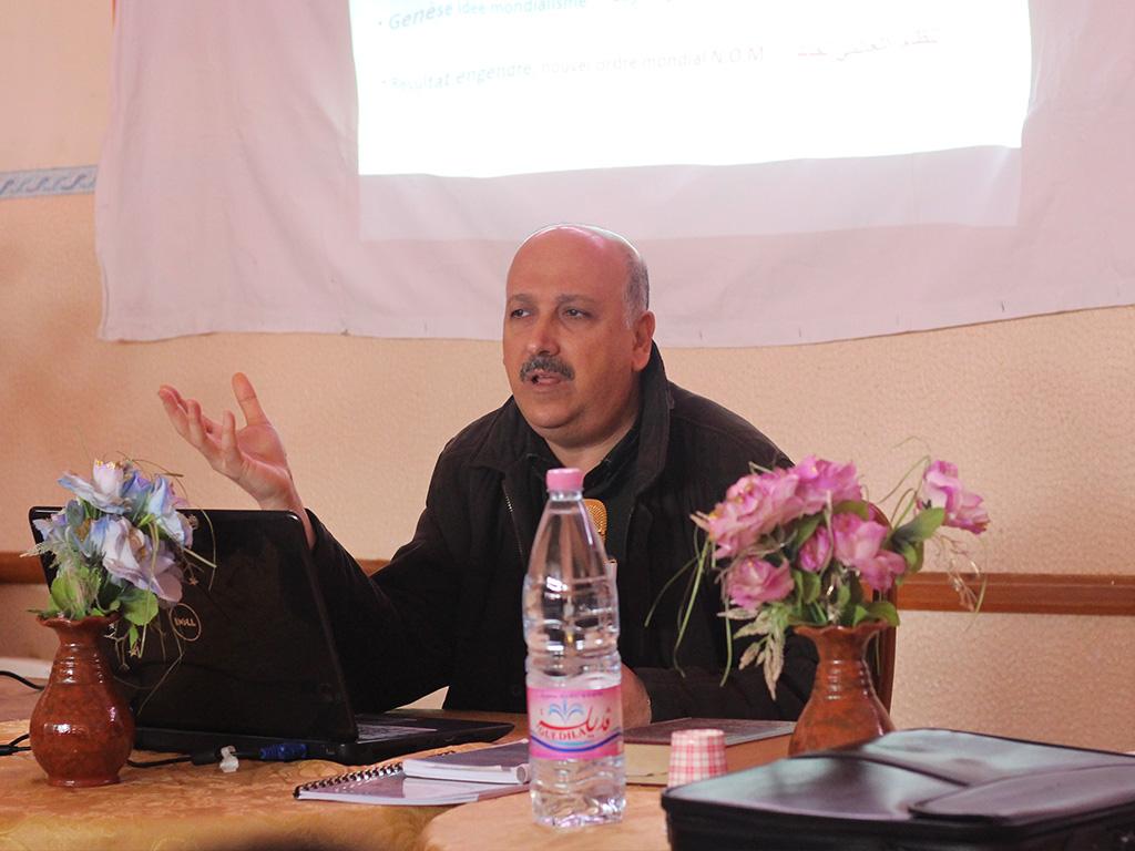 ندوة السبت : الأبعاد الصهيونية للعولمة 2 - جمعية العلماء المسلمين الجزائريين - شعبة عنابة