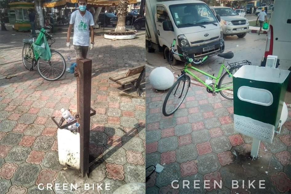 سلة في أحسن حلة 2 - GREEN BIKE