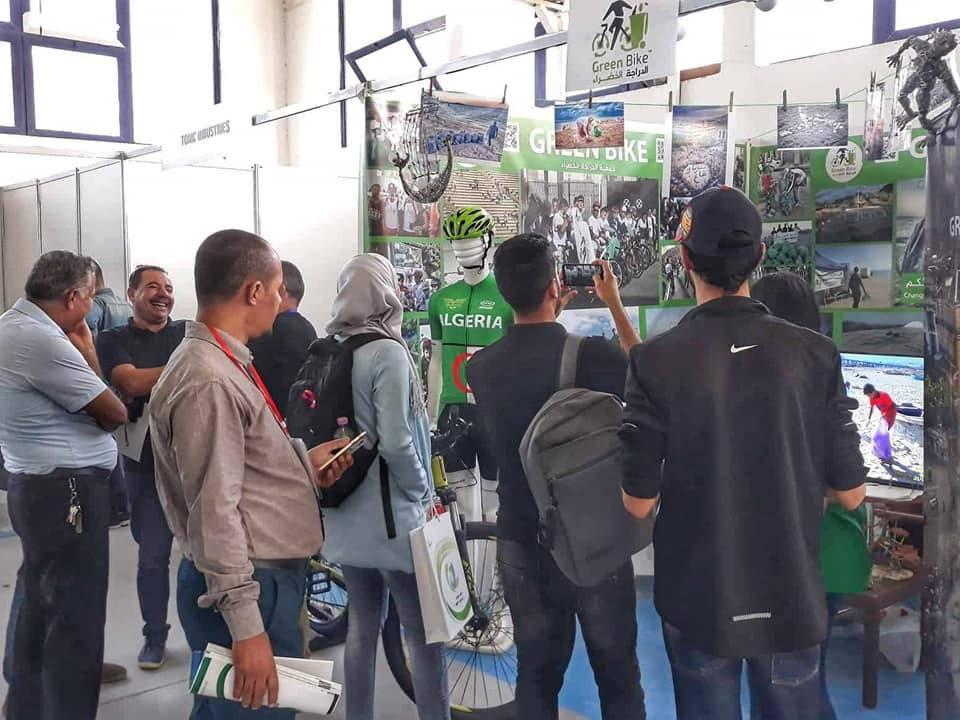 عرض في جناح خاص لجمعيـة الدراجـة الخضـراء بالصالون الدولي لإسترجاع و تثمين النفايات 2019 - GREEN BIKE