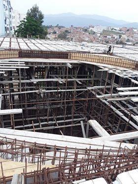 طلب المساعدة في صب خرسانة سقف المسجد - اللجنة الدينية لمسجد حمزة بسيدي عمار