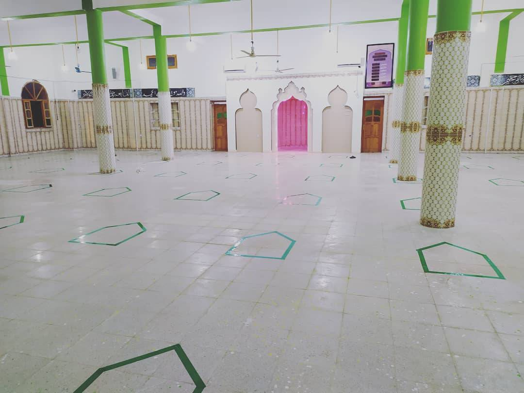 تنظيم و تنظيف بيوت الله في مدينة العقلة  - قدماء الكشافة الاسلامية الجزائرية - فوج محمد بوراس العقلة ولاية تبسة -