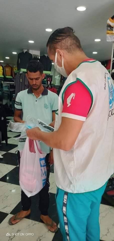حملة تحسيسية للوقاية من فيروس كورونا - بلدية حمام الضلعة - المنظمة الجزائرية لحماية و ارشاد المستهلك و محيطه