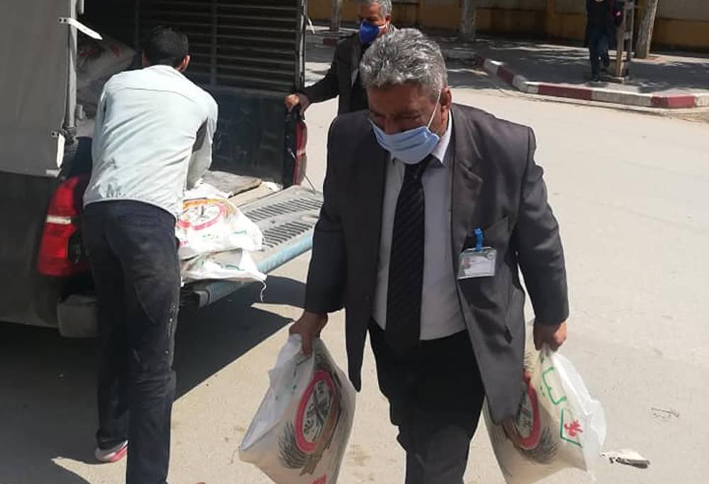 حملة التبرع للأرامل و الأيتام - كافل اليتيم الوطنية - مكتب ولاية عنابة
