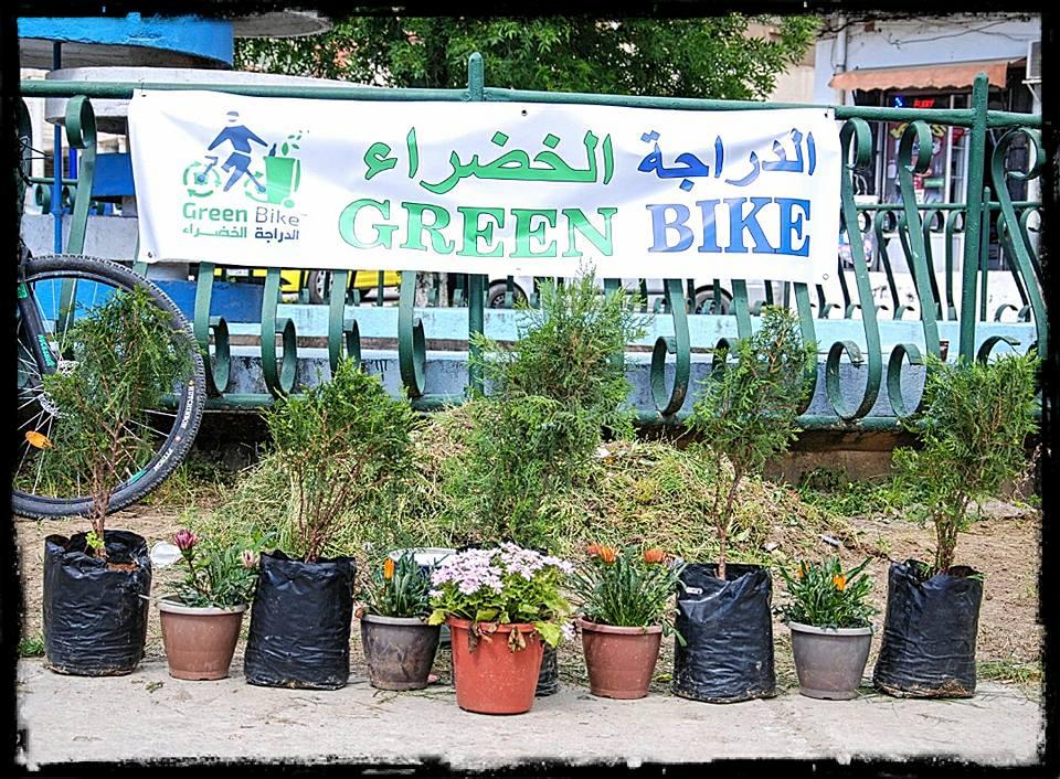 حملة تنظيف وتزيين بمحور إليزا - GREEN BIKE