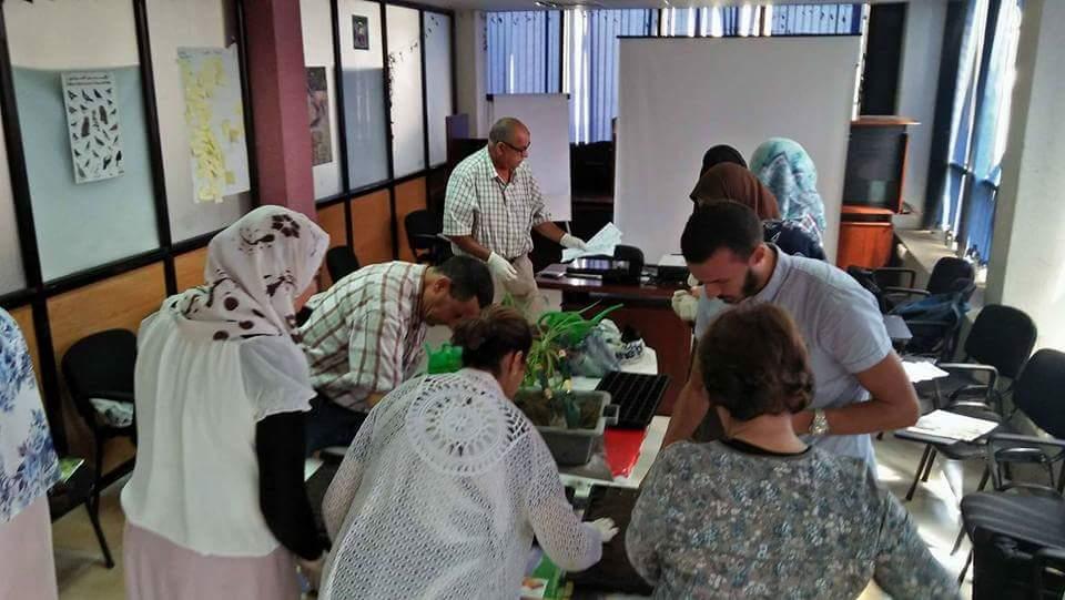 Formation sur la gestion des espaces verts - Elkhadra sidi amar