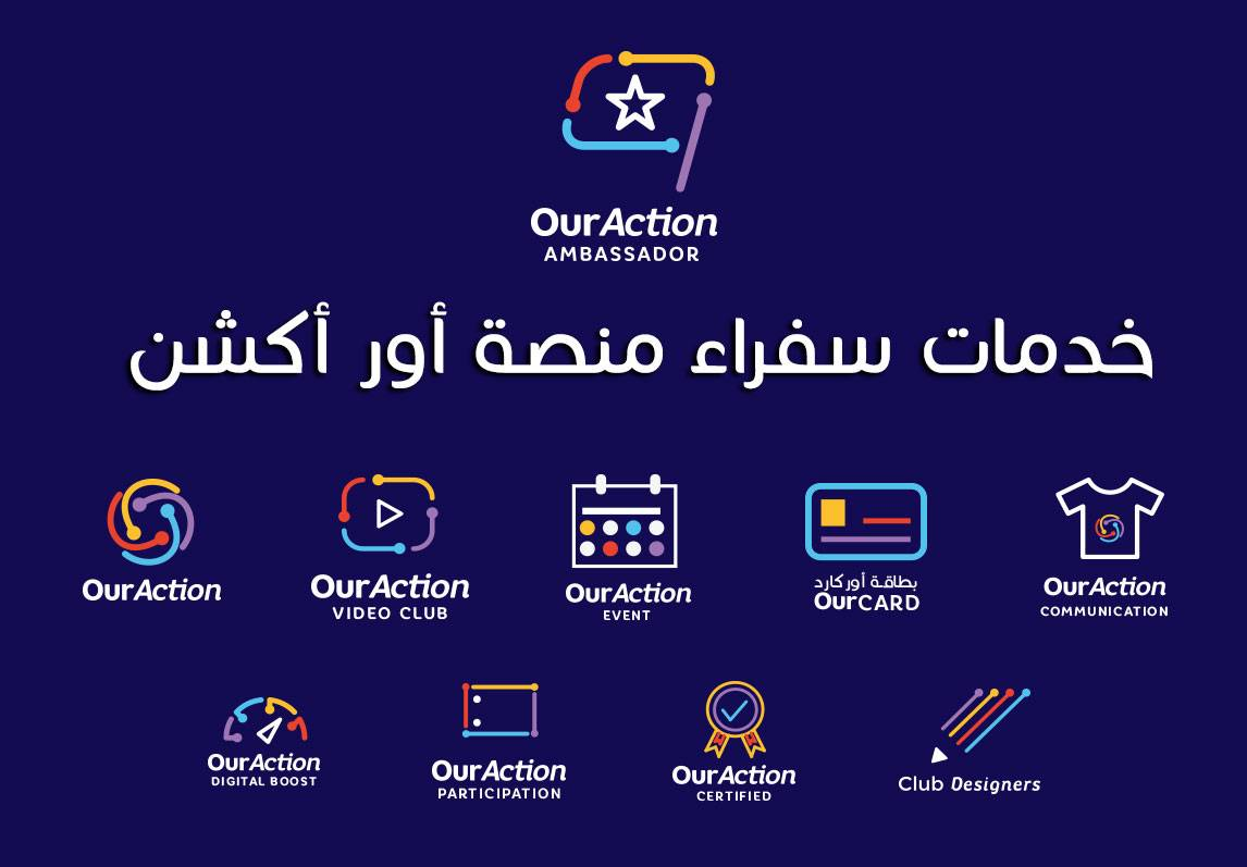 The services of the ambassadors of the OurAction platform