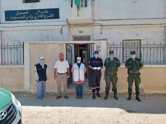 خرجة تحسيسية ببلدية رمل السوق-الطارف  - المنظمة الجزائرية لحماية و ارشاد المستهلك و محيطه