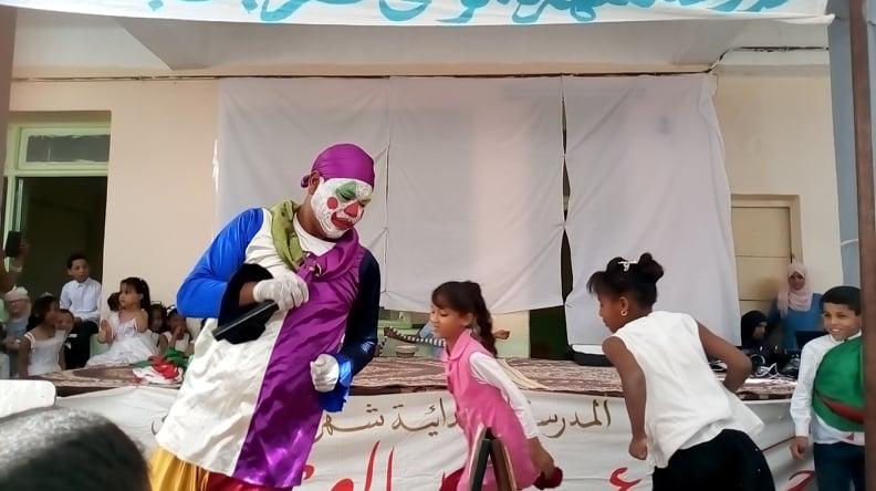حفل عيد العلم في إبتدائية شهرة موسى - جمعية لمسة الثقافية المغير