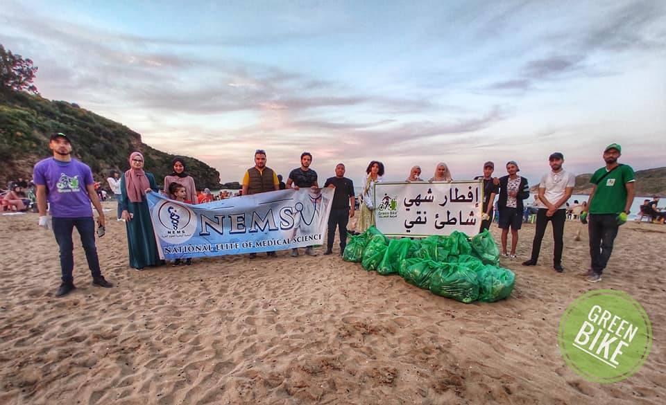 حملة إفطار شهي في شاطئ نقي - GREEN BIKE