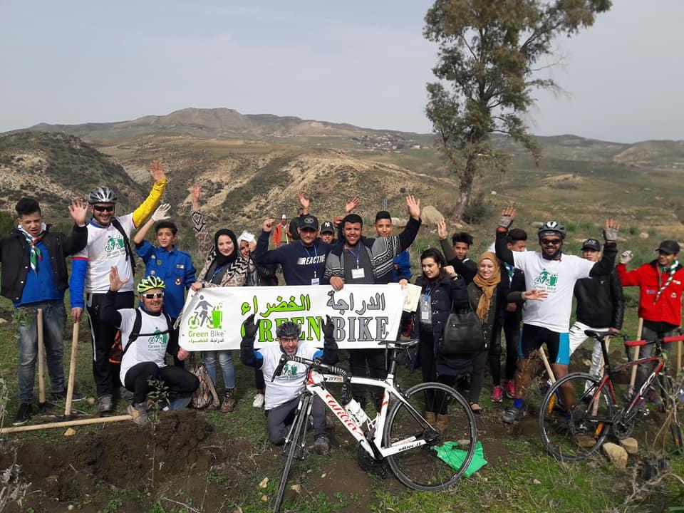 عملية الدراجة الخضراء - سد عين الدالية - GREEN BIKE