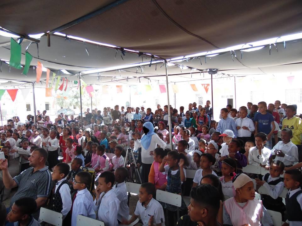 عيد العلم ابتدائية علي خليل - جمعية لمسة الثقافية المغير