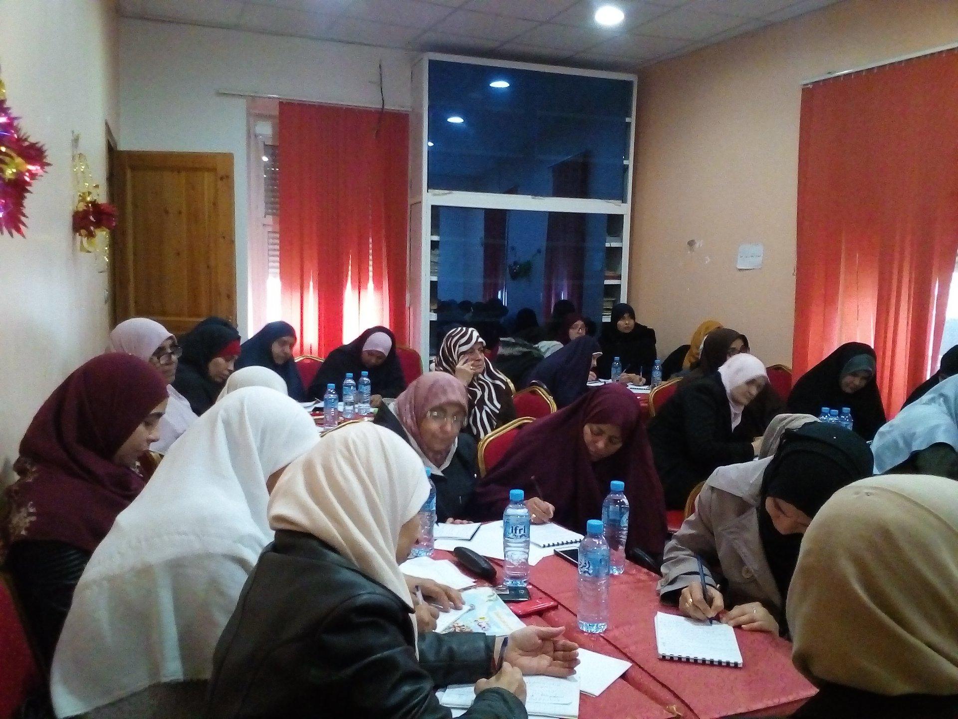 الدورة الثانية لتكوين المربيات - جمعية العلماء المسلمين الجزائريين - شعبة عنابة