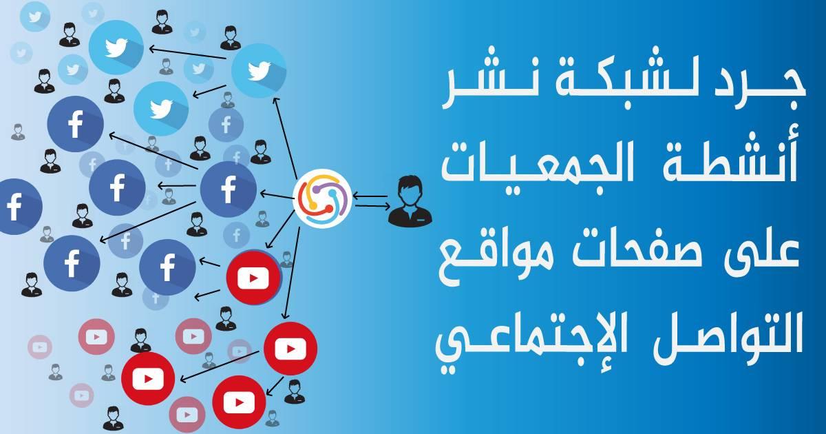 جرد لشبكة نشر أنشطة الجمعيات على صفحات مواقع التواصل الإجتماعي - سفراء منصة أورأكشن