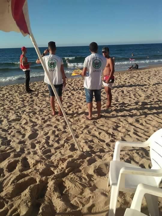 حملة تحسيسية بشواطئ سكيكدة  - المنظمة الجزائرية لحماية و ارشاد المستهلك و محيطه
