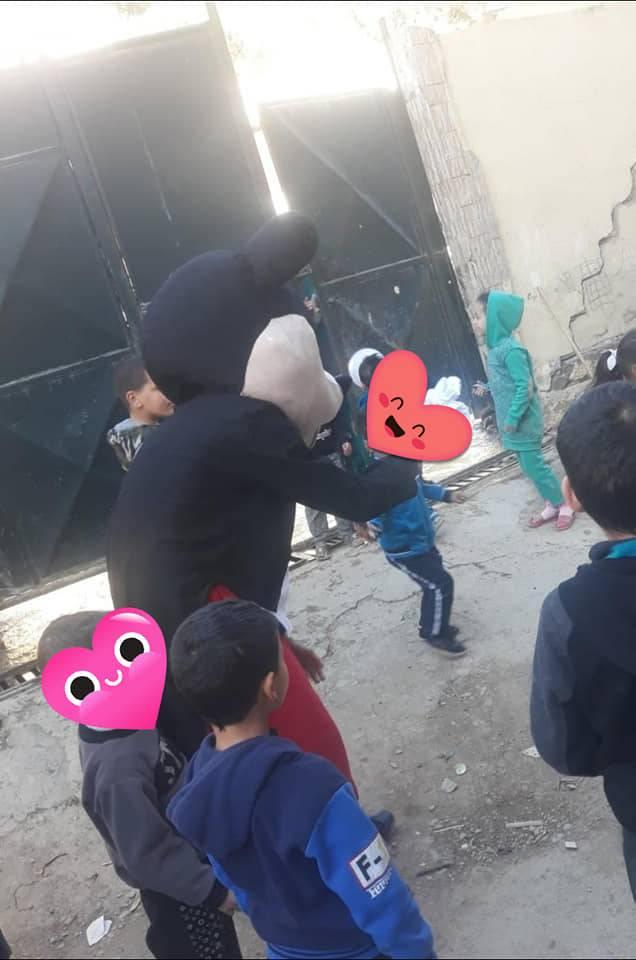 حملة شتاء دافئ - بسمة غفران