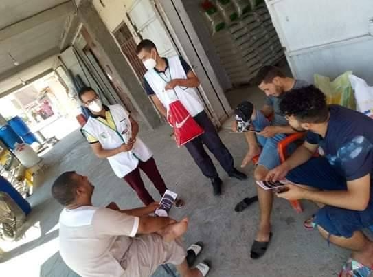 حملة تحسيسية حول التسممات الغذائية-اولاد دراج - المنظمة الجزائرية لحماية و ارشاد المستهلك و محيطه