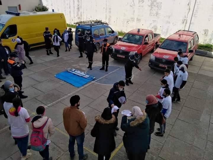 حملة تحسيسية حول مخاطر غاز أحادي أكسيد الكربون  - المنظمة الجزائرية لحماية و ارشاد المستهلك و محيطه