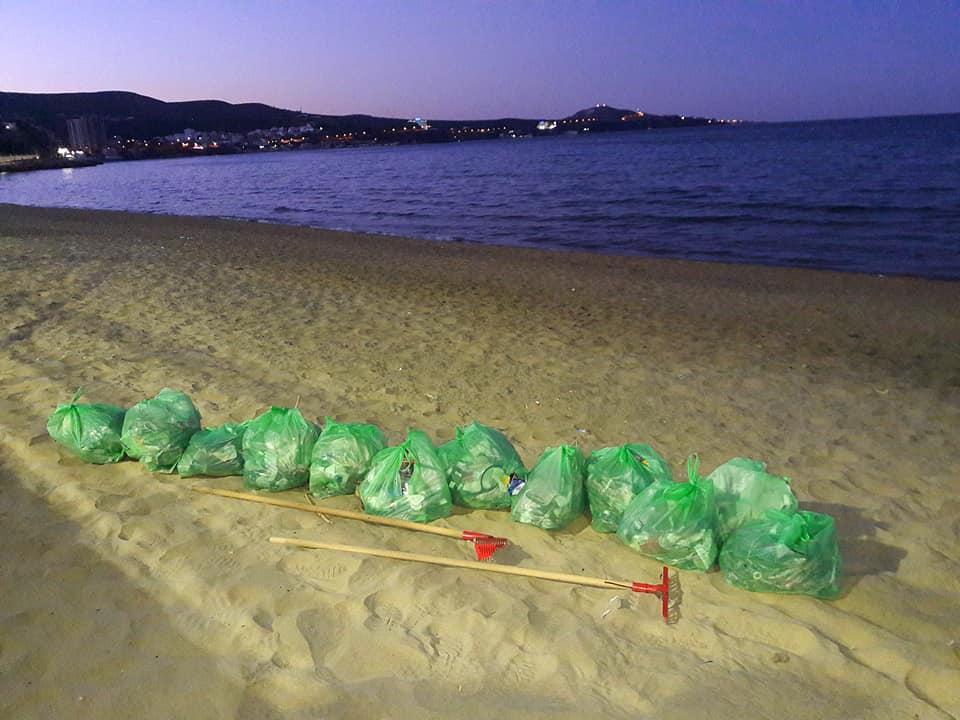 عملية الموجة الخضراء - شاطئ الشهيد رزقي رشيد - GREEN BIKE