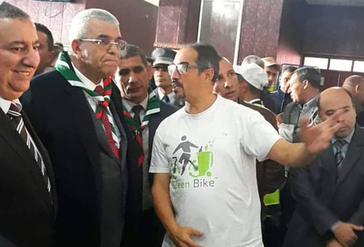 مشاركة جمعية  الدراجة الخضراء بالملتقى الوطني للتطوع بالطارف - GREEN BIKE