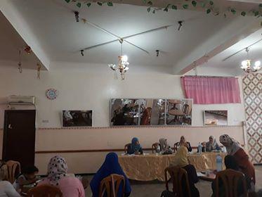 ندوة مخصصة للنساء بعنوان الأسرة الجزائرية - جمعية العلماء المسلمين الجزائريين - شعبة عنابة