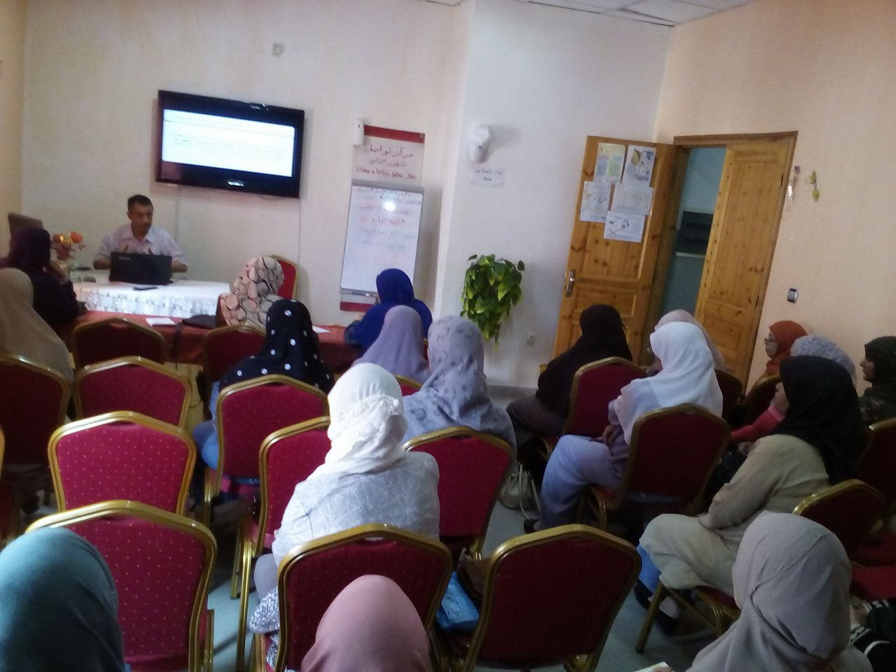 محاضرة بعنوان الانتصار في رمضان - جمعية العلماء المسلمين الجزائريين - شعبة عنابة