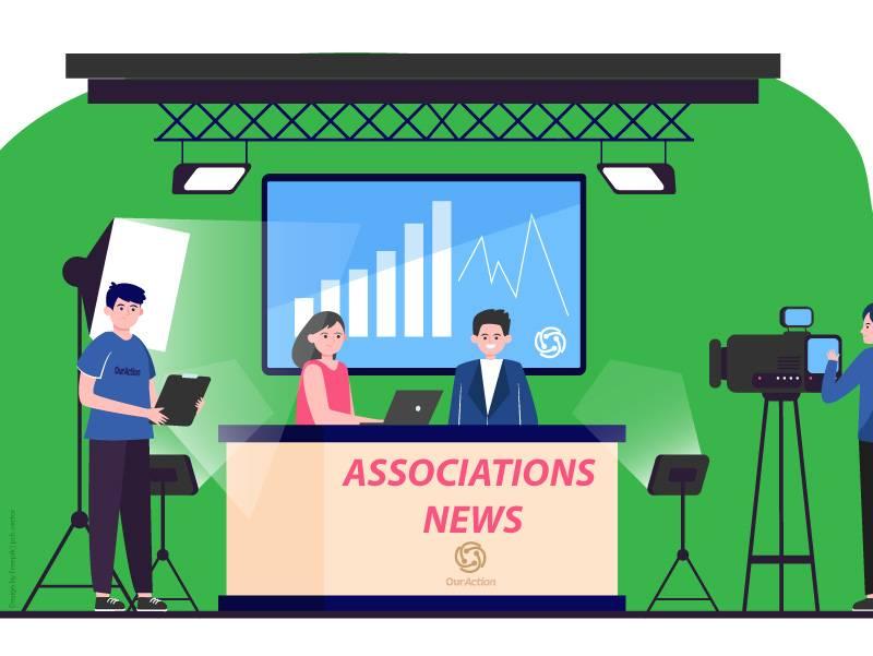 إنشاء حصة إخبارية شهرية مخصصةلأنشطة الجمعيات