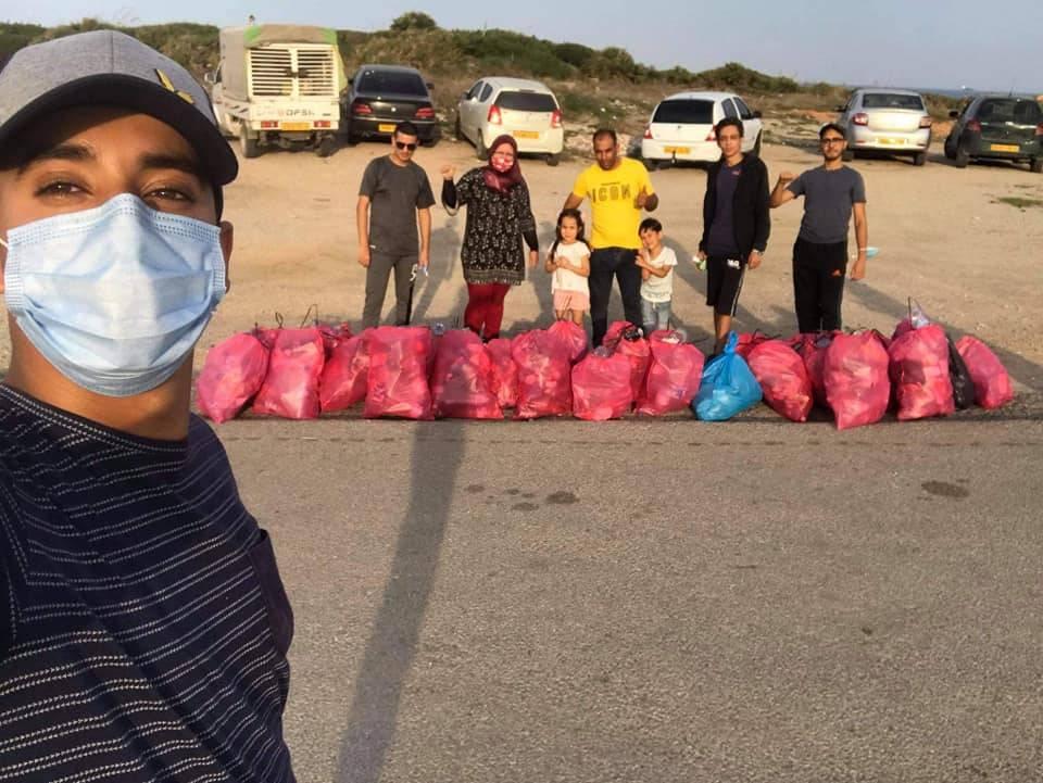 حملة تنظيف أسفل المنارة - كافل اليتيم الوطنية - مكتب ولاية عنابة