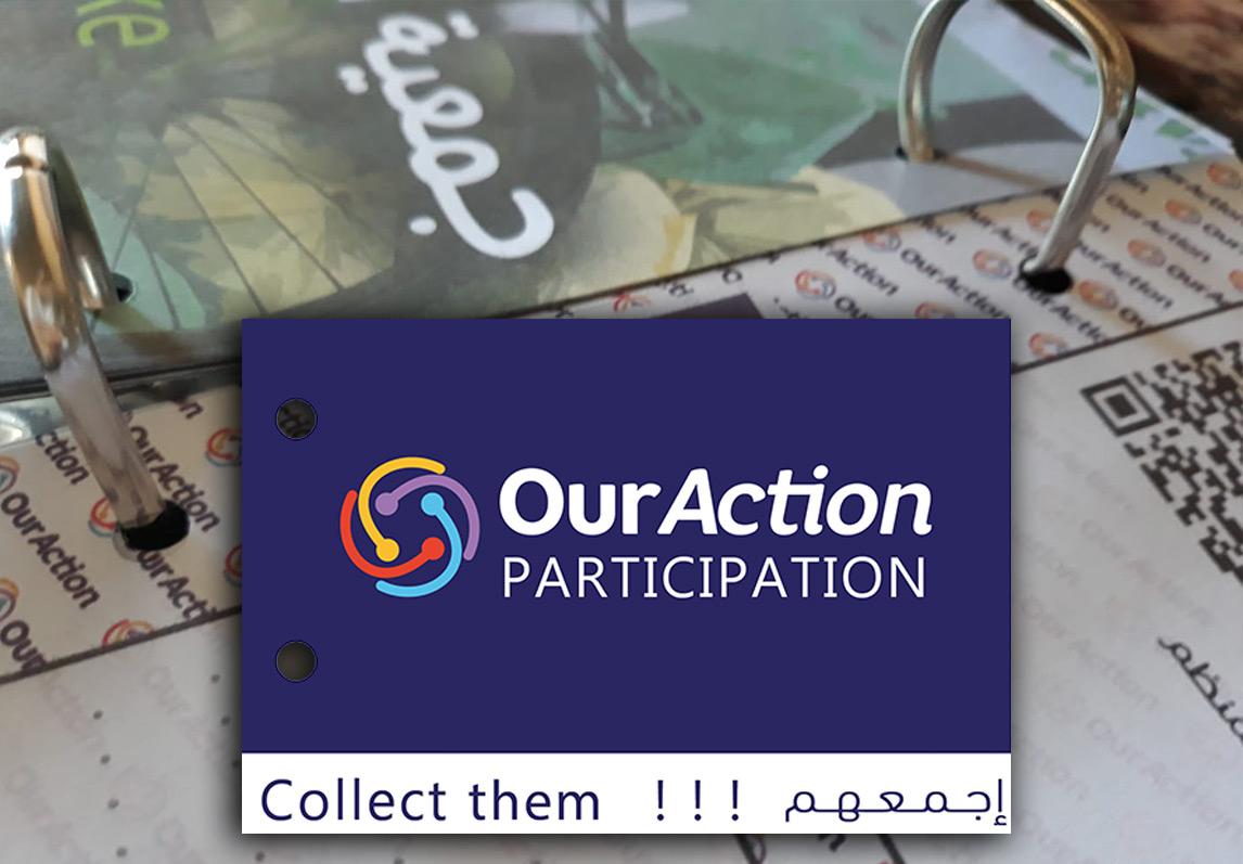 Launch of the Ouraction Participation Flyers under the slogan: Collect them !!