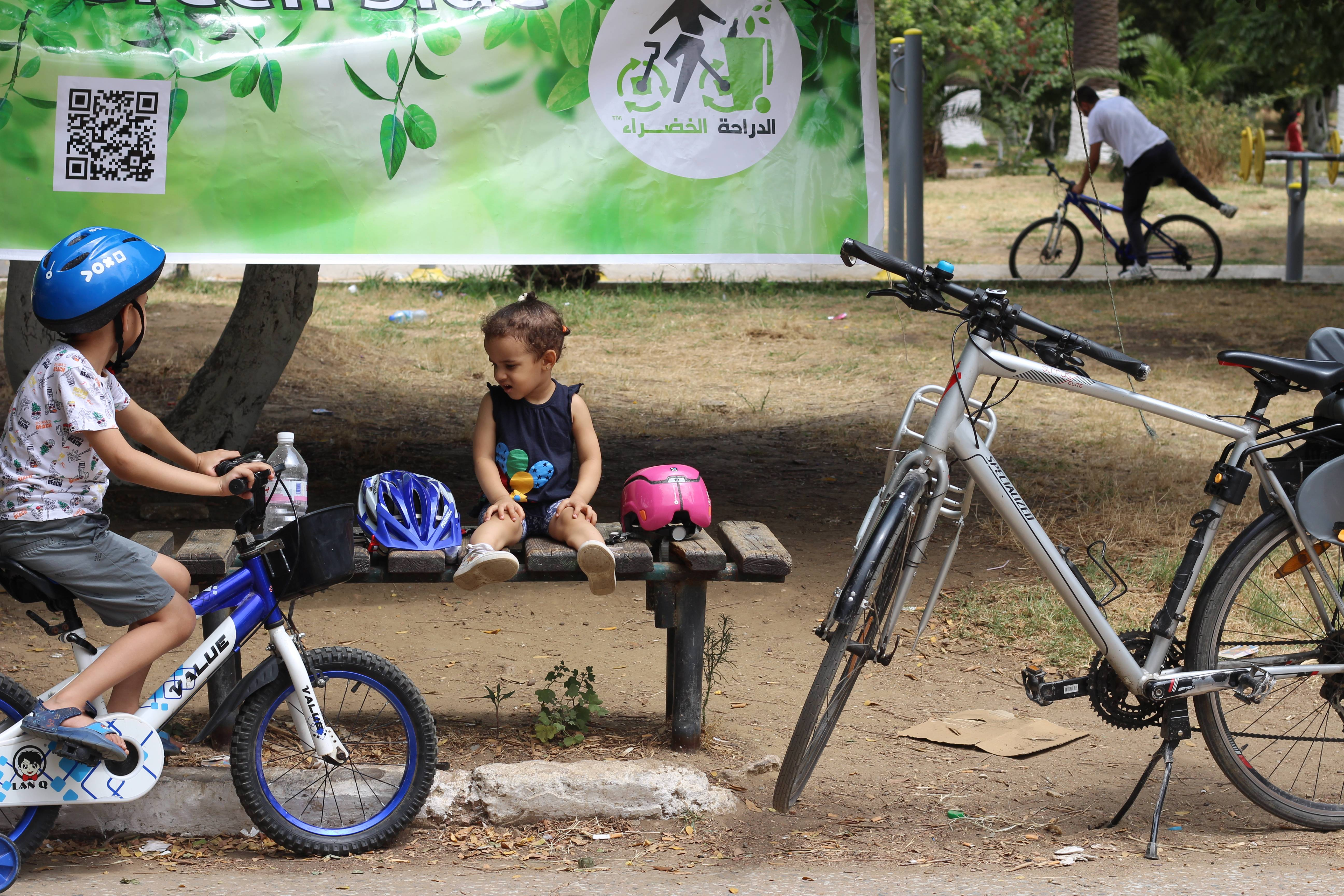ورشة تصوير مفتوحة للعائلات بالدراجات -  حديقة إيدوغ - GREEN BIKE