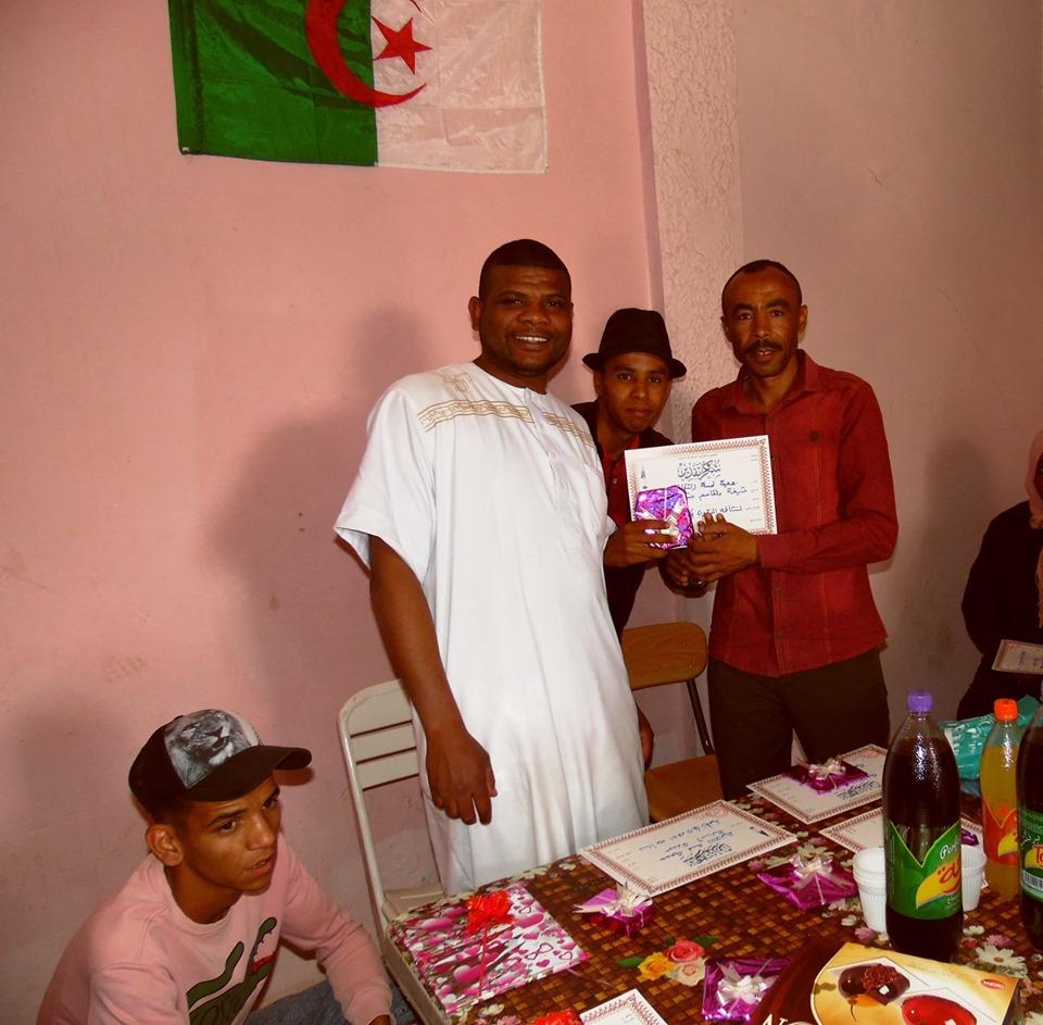 تكريم الناشطين في جمعية لمسة الثقافية - جمعية لمسة الثقافية المغير