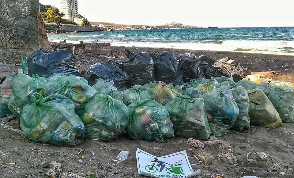 عملية الموجة الخضراء - شاطىء النصر - GREEN BIKE
