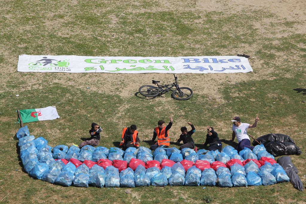 عملية الموجة الخضراء - شاطىء سيبوس - GREEN BIKE