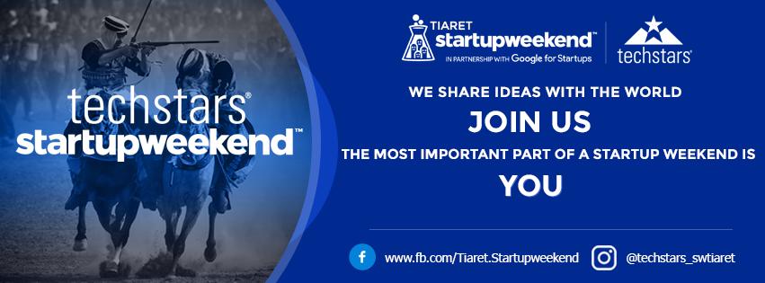 Techstars Startup Weekend Tiaret 2019 -  Techstars Tiaret