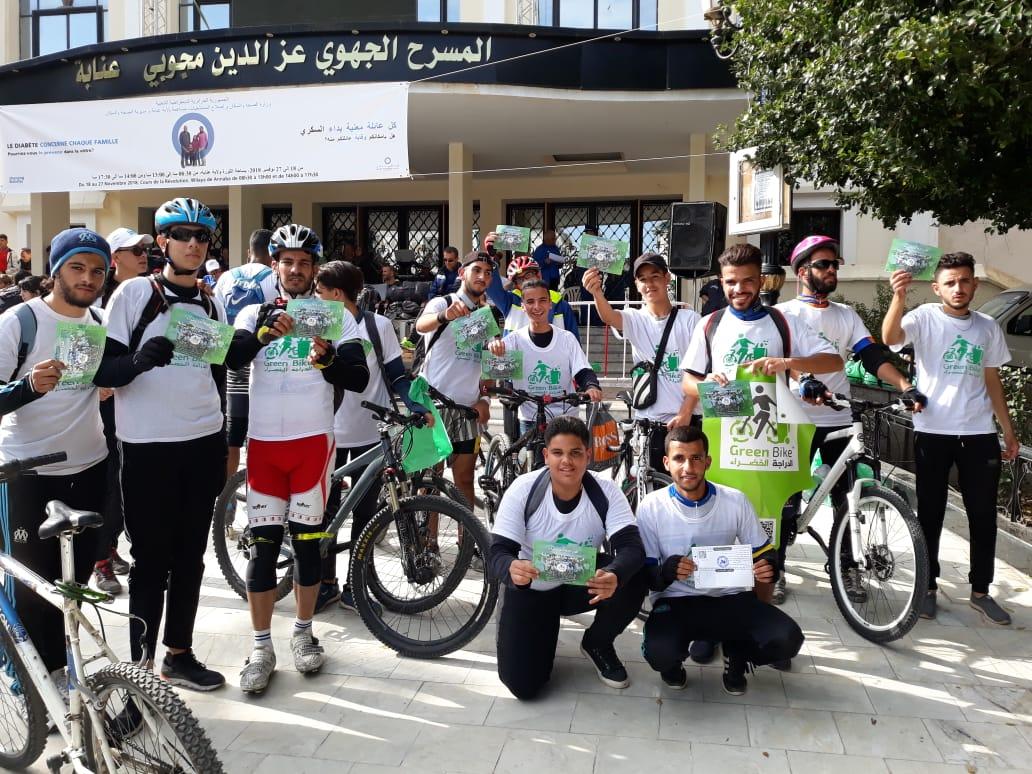 الدراجة الخضراء في نصف ماراطون عنابة - GREEN BIKE