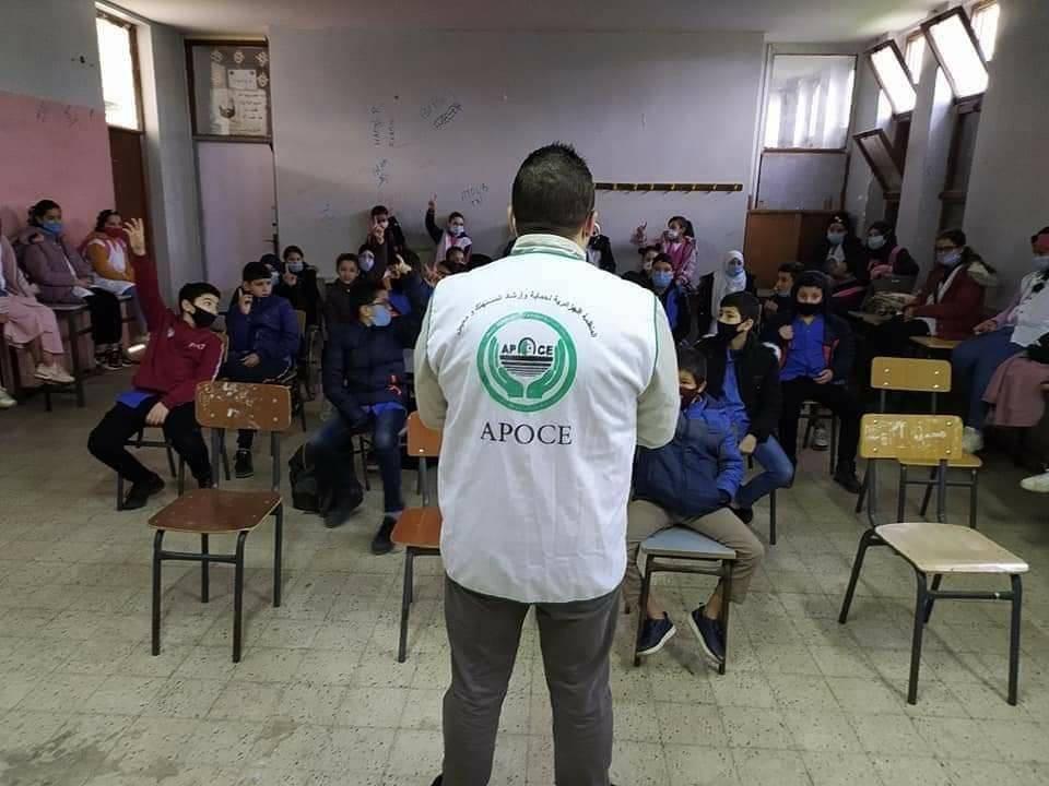 حملة تحسيسية حول مخاطر أكسيد الكربون  - المنظمة الجزائرية لحماية و ارشاد المستهلك و محيطه