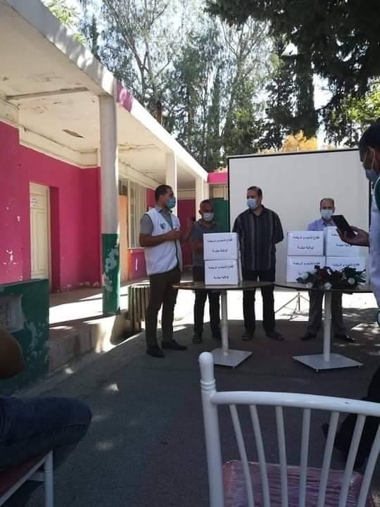حملة تحسيسية للوقاية من فيروس كورونا- ميلة  - المنظمة الجزائرية لحماية و ارشاد المستهلك و محيطه