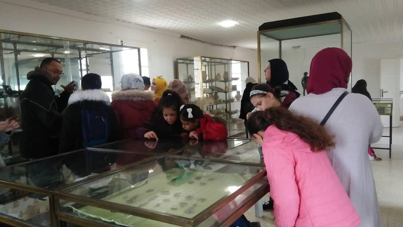 خرجة للأطفال الى متحف هيبون - كافل اليتيم الوطنية - مكتب ولاية عنابة