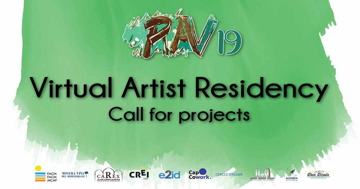 Call for projects - Virtual Artist Residency RAV.19 - e2id